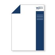 Briefpapier A4 2 Seiten