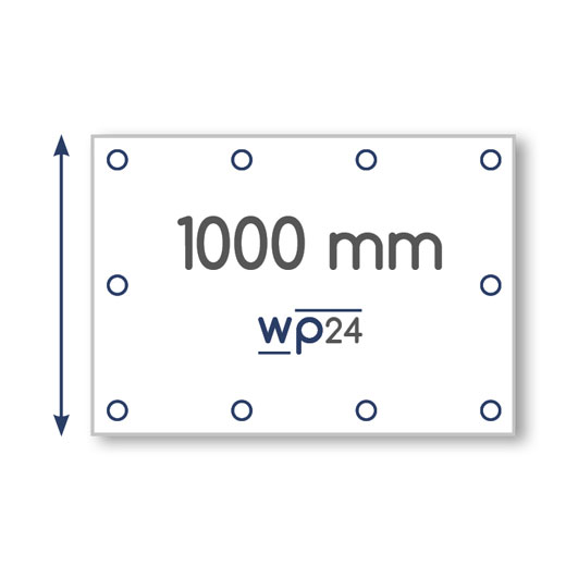 Banner – Höhe 1000 mm